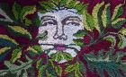 Green Man Magician rug